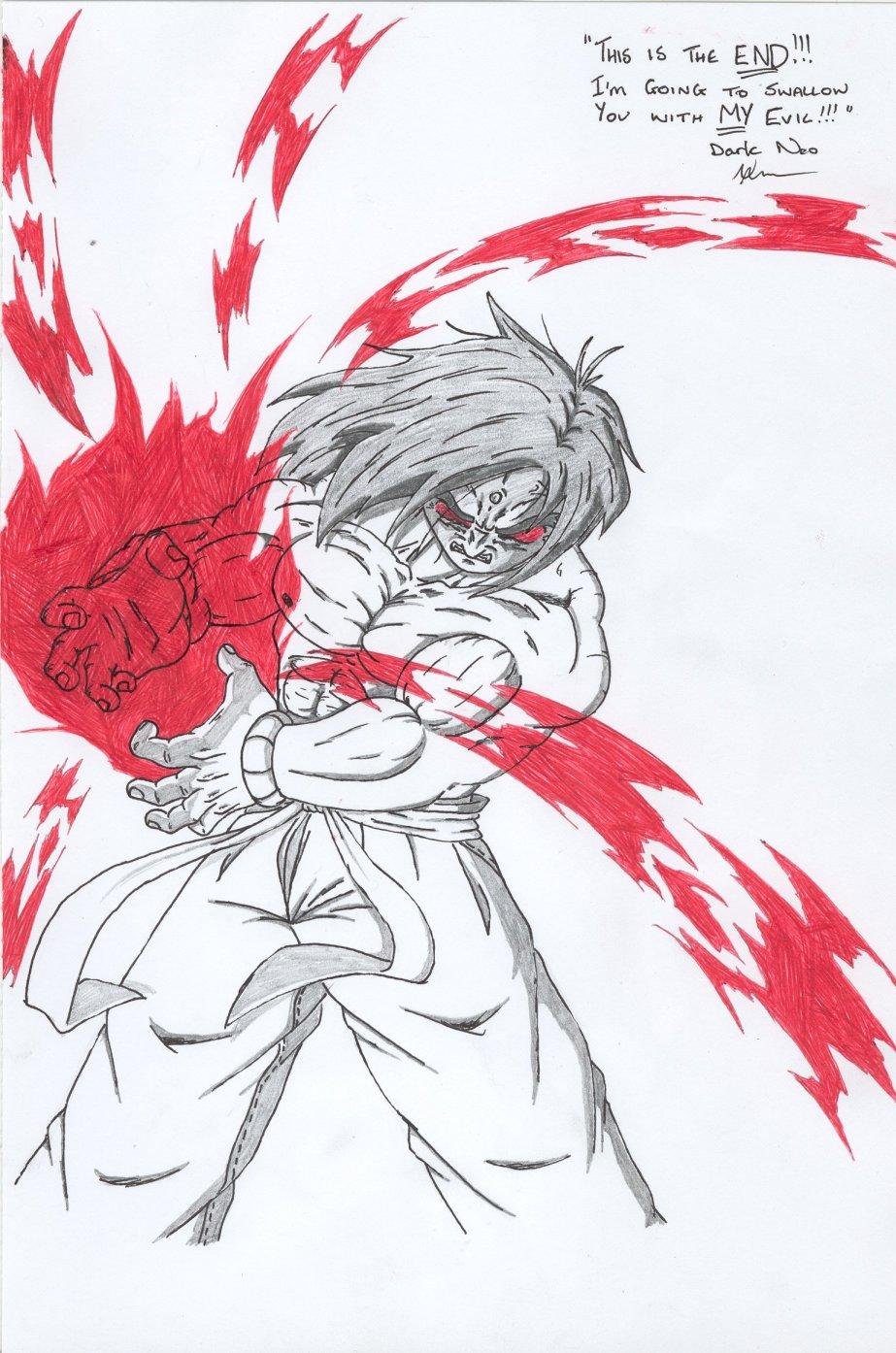 Dark Neo's wrath by Neo_Masaki