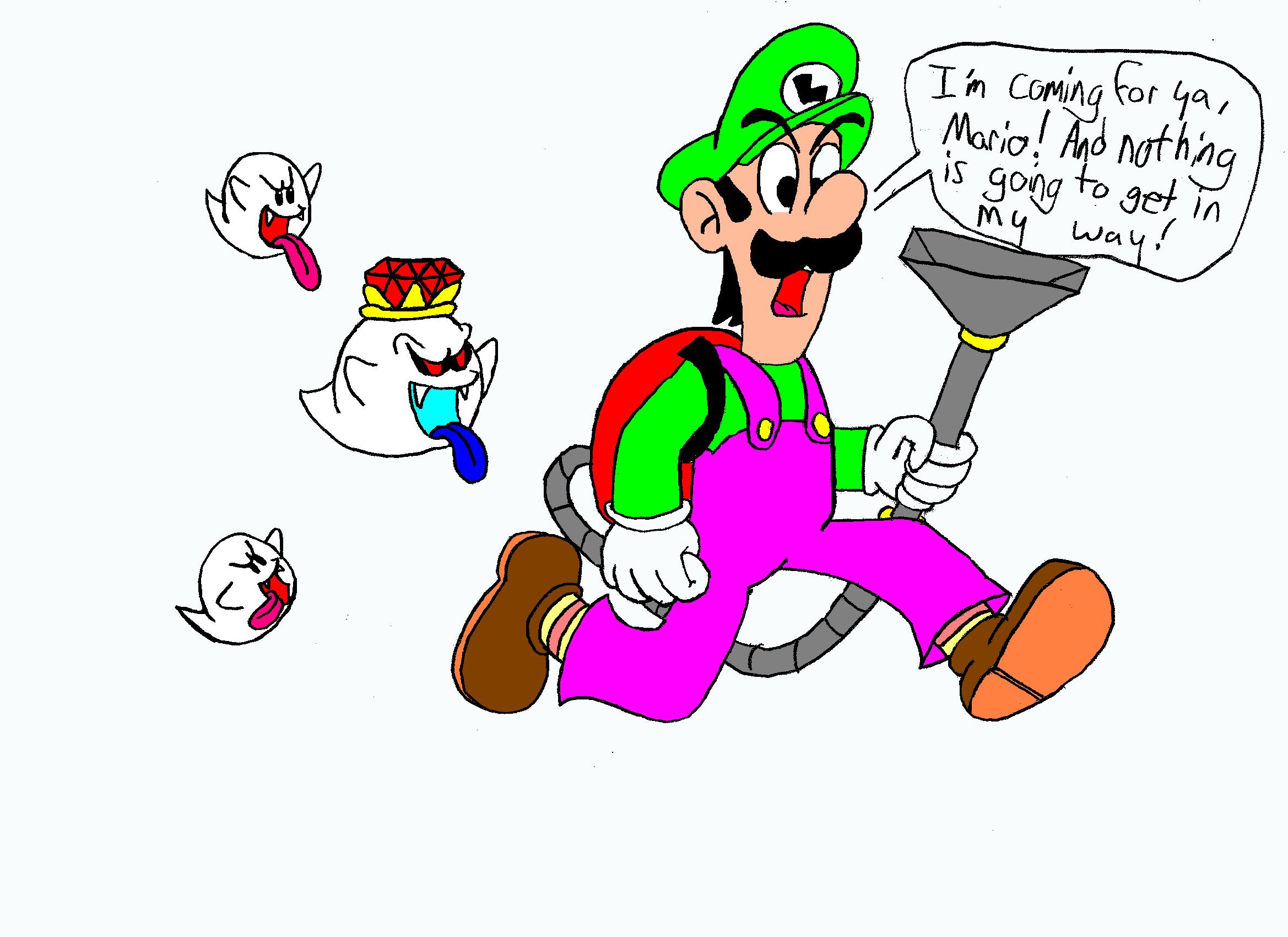 Determined Luigi by Neon_Lemmy_Koopa