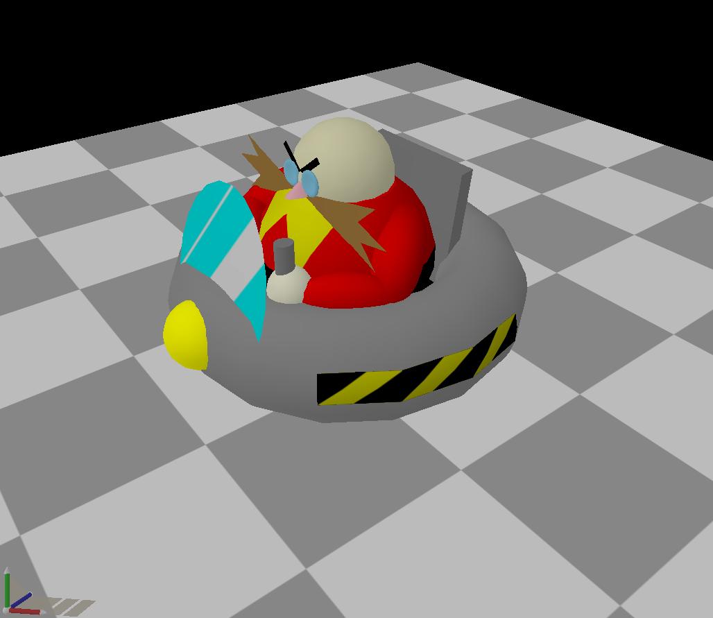 Dr. Eggman 3D by Neon_Lemmy_Koopa