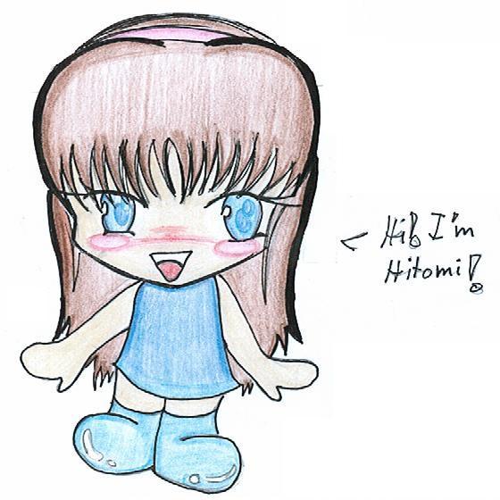 Chibi Hitomi everyone!:3 by Neopetgirl