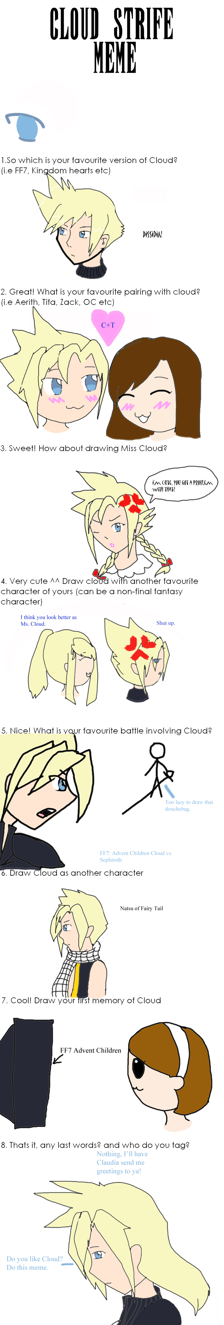 Cloud Strife Meme by NewLeaderMarie