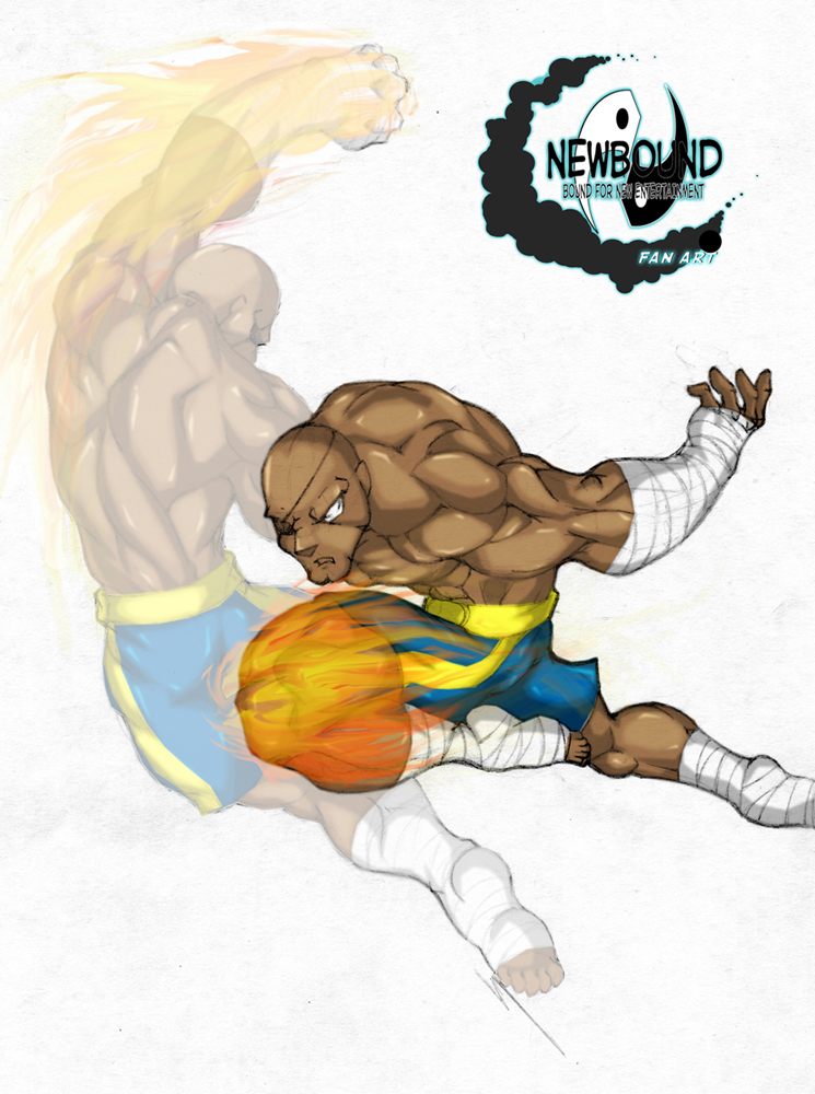 Sagat Fan Art by Newbound