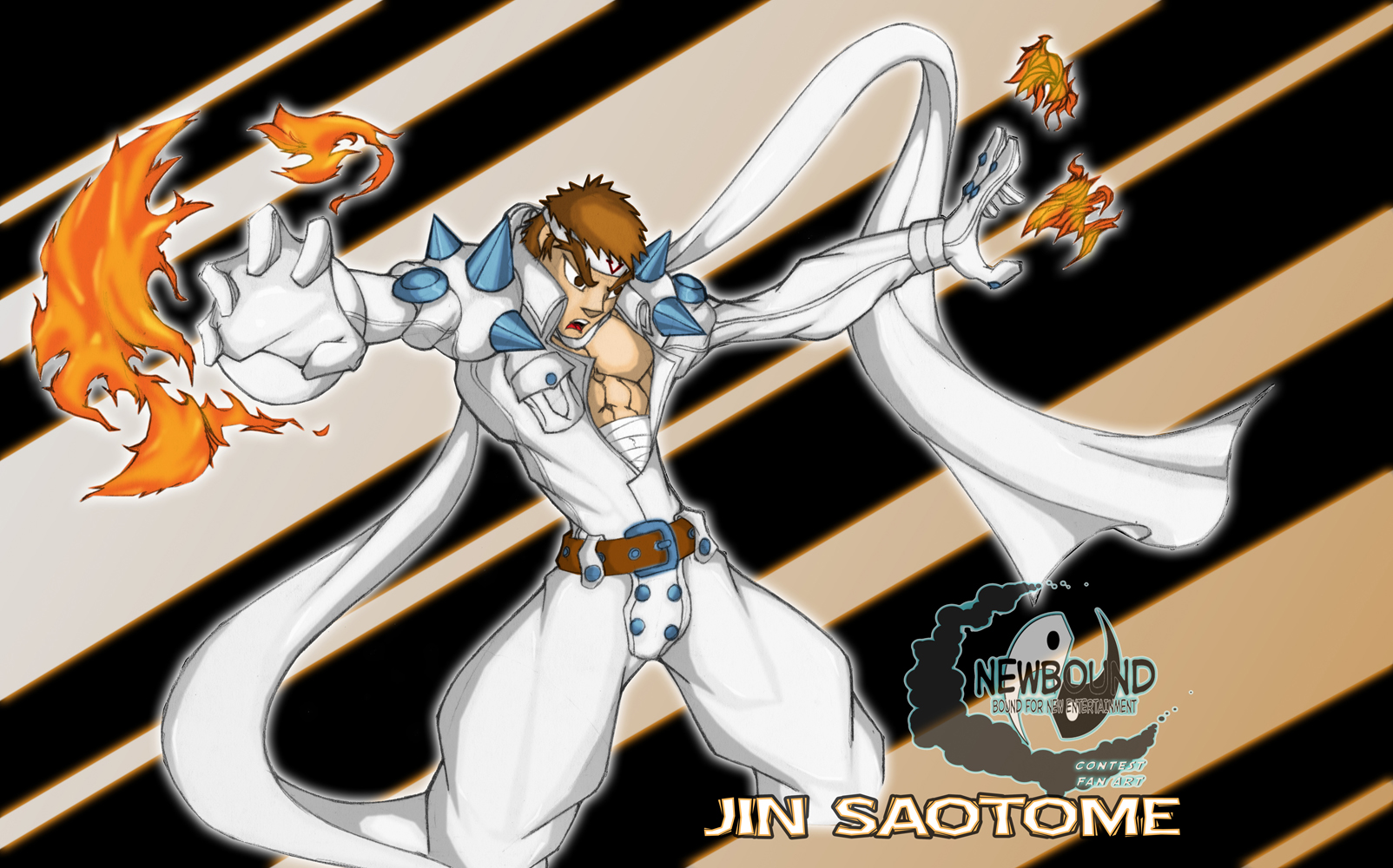 Jin Saotome by Newbound