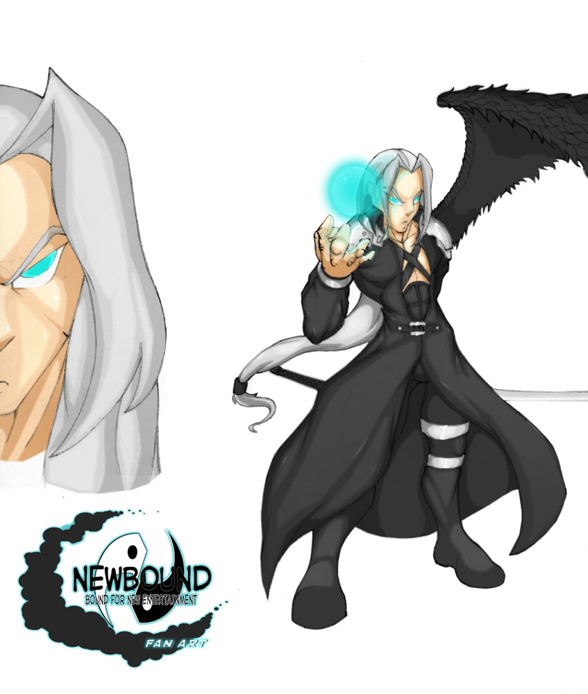Sephiroth (Final Fantasy VII) by Newbound