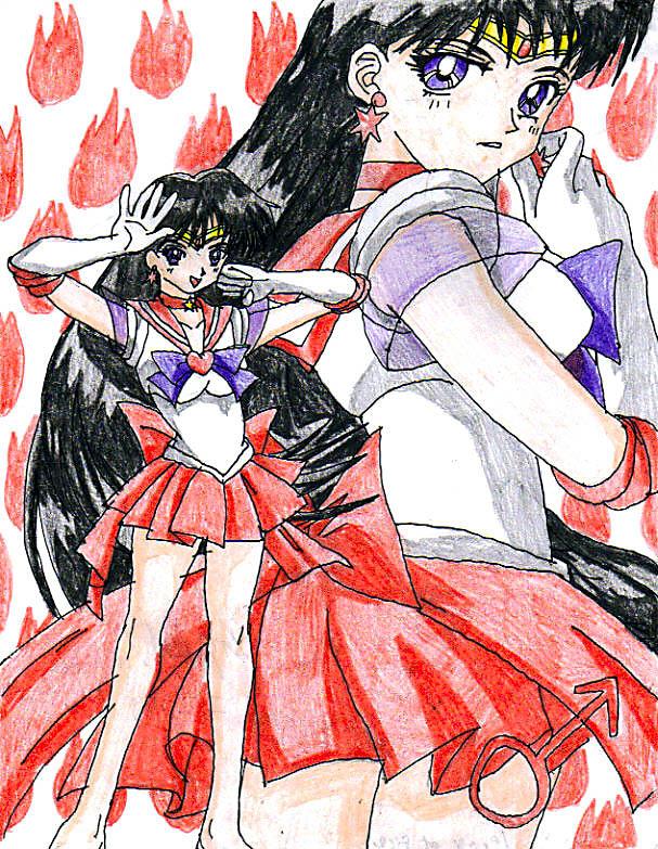 Sailor Mars Super by Nexuswarrior