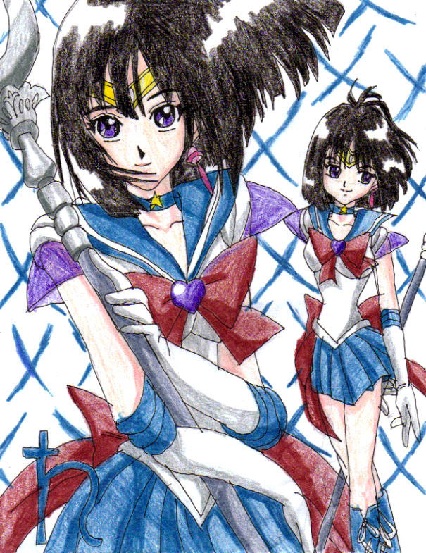 Sailor Saturn Super by Nexuswarrior