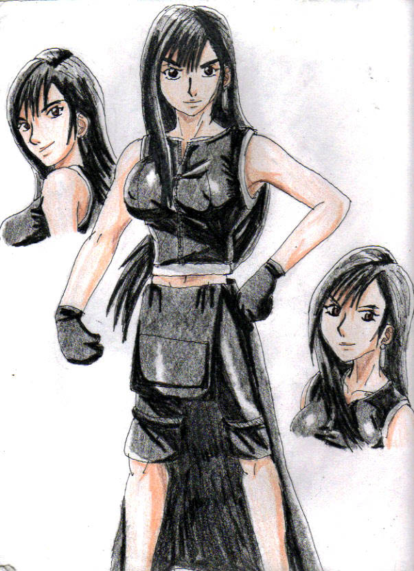 FFVII AC: Tifa Profile by Nexuswarrior
