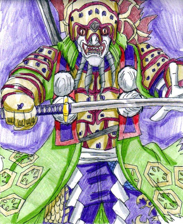 Soul Calibur IV - Yoshimitsu by Nexuswarrior