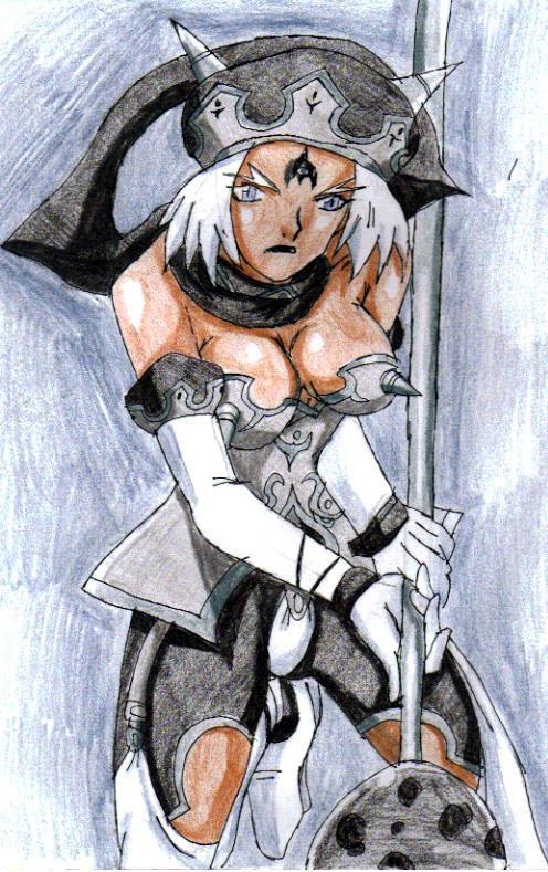 Soul Calibur IV - Angol Fear by Nexuswarrior