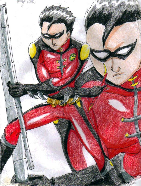 Older Titans Robin by Nexuswarrior