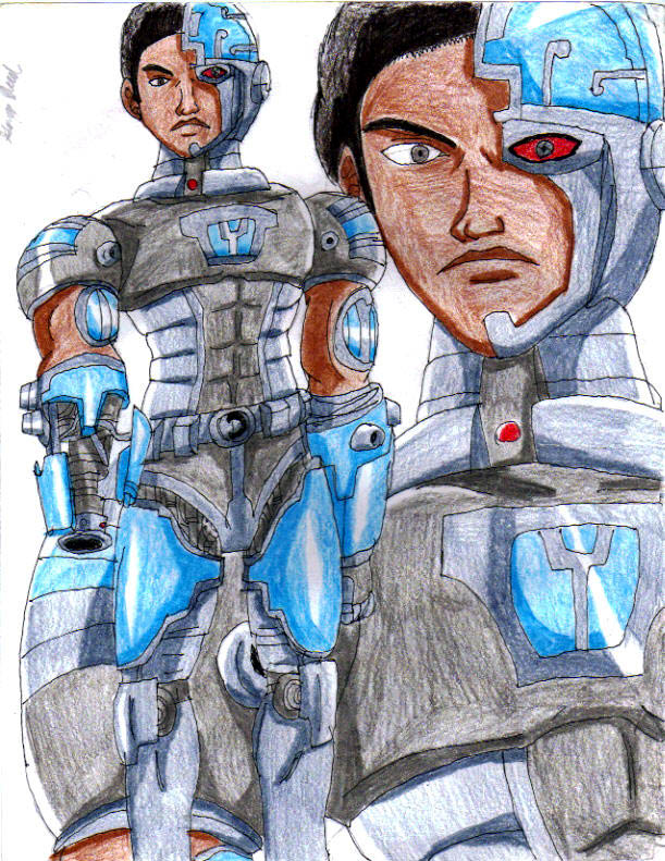 Older Titans Cyborg by Nexuswarrior