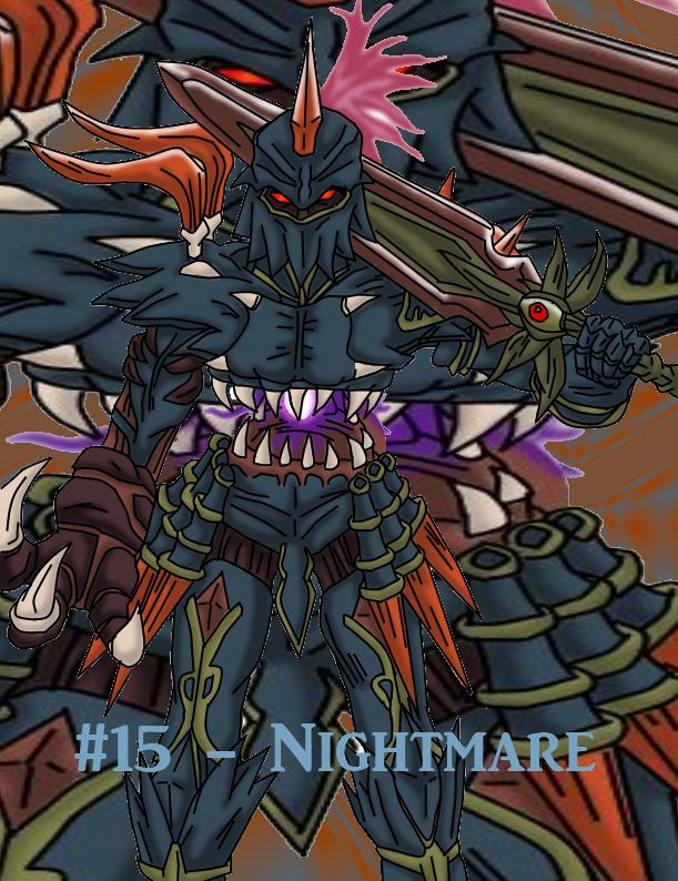 Top 20 Villians - Nightmare by Nexuswarrior