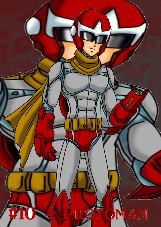 Top 20 Villains - Protoman by Nexuswarrior