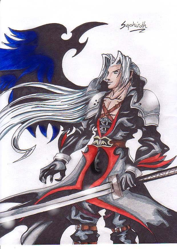 Sephiroth by NickySchreuder