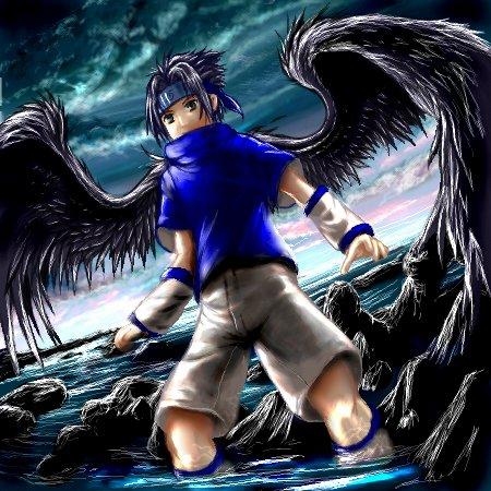 Dark Angel Sasuke by Nicole1725