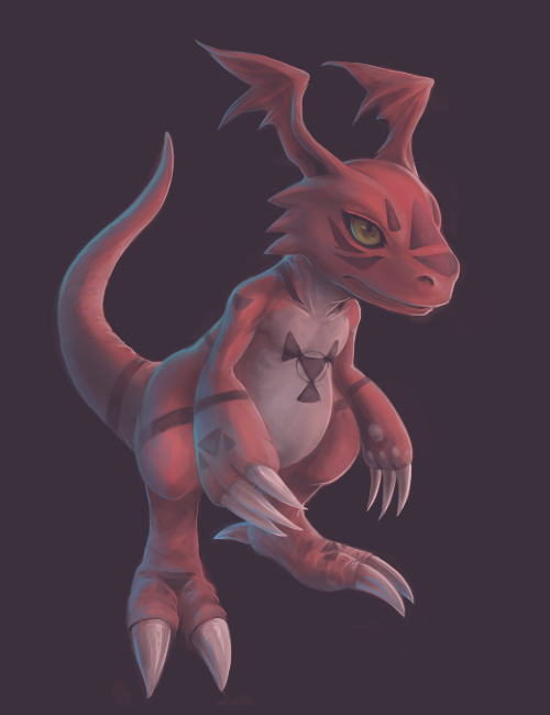 Guilmon by Nicole1725