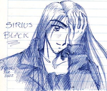 Sirius Black by Nie