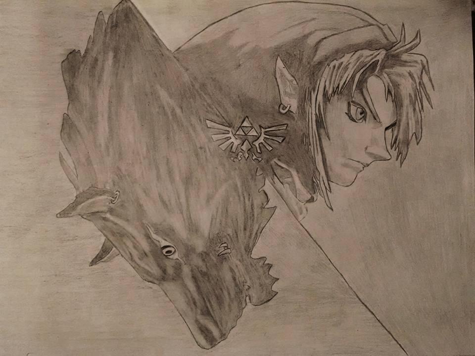 Twilight Princess Link/Wolf Link by NierReplicant