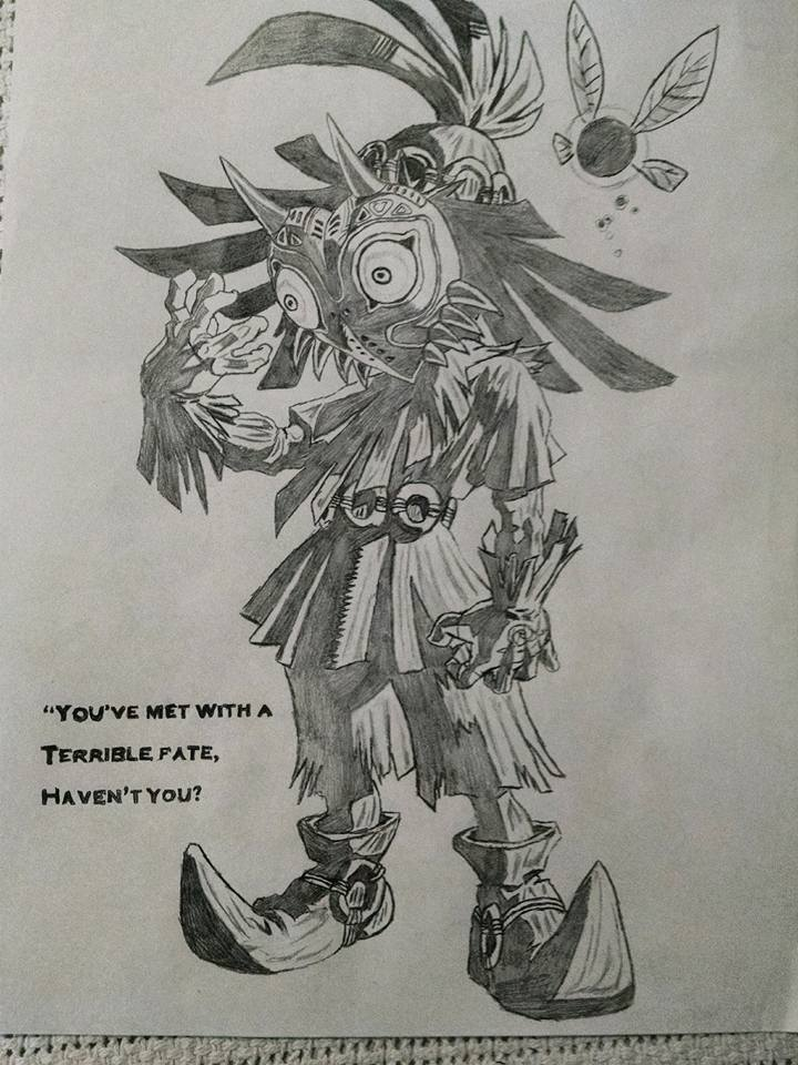 Skull Kid by NierReplicant