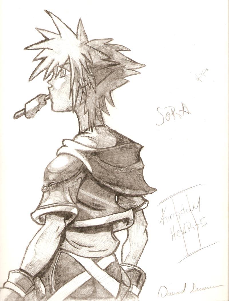 Sora (Kh2) by Niggyd31587