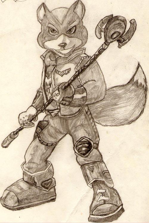 Fox McCloud by Niggyd31587