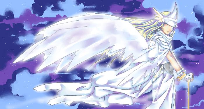 Lord HolyAngemon by NightStar