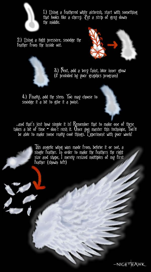 Easy CG feathers? YOU GOT IT! by Nighthawk