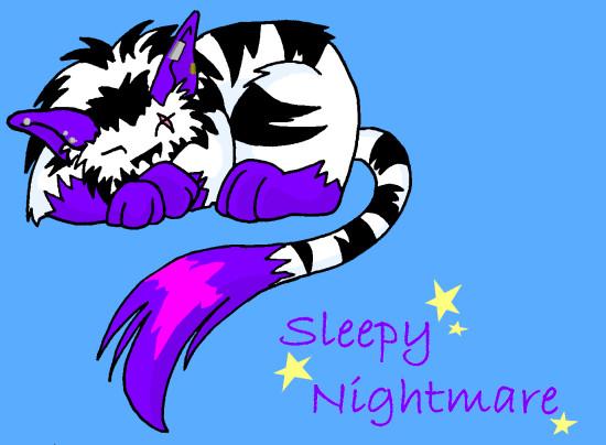 Sleepy-time Nightmare by NightmareShinigami