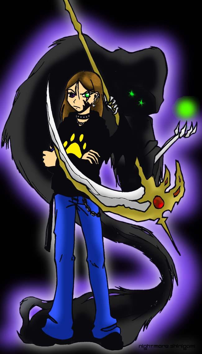 Shadow Master by NightmareShinigami
