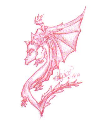 Climbing Red Dragon by NikNik