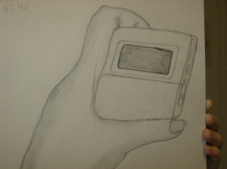 Mp3 Player in Hand by Nilitac_Tesgrah