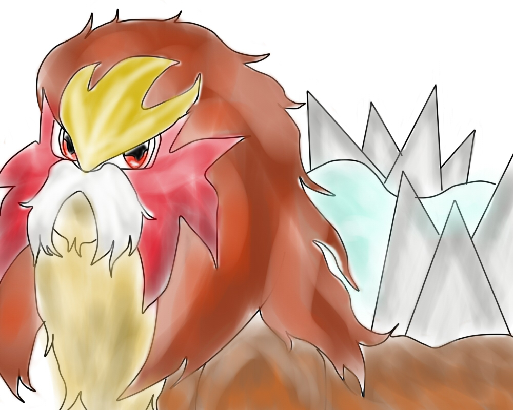 Entei by NinjaChan