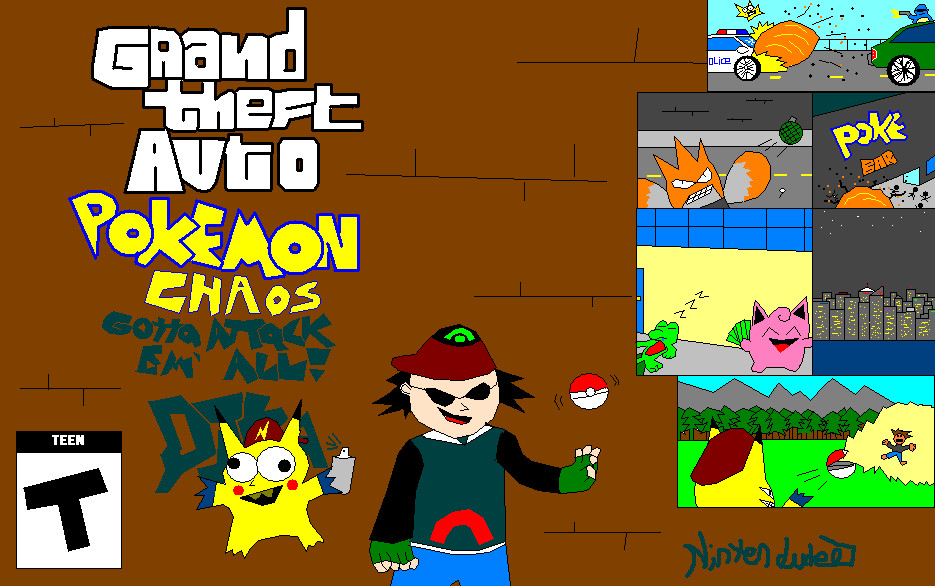 Grand Theft Auto: Pokemon Edition by Nintendude07