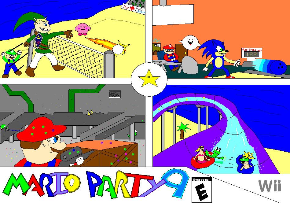 Mario Party 9  AD 1 by Nintendude07