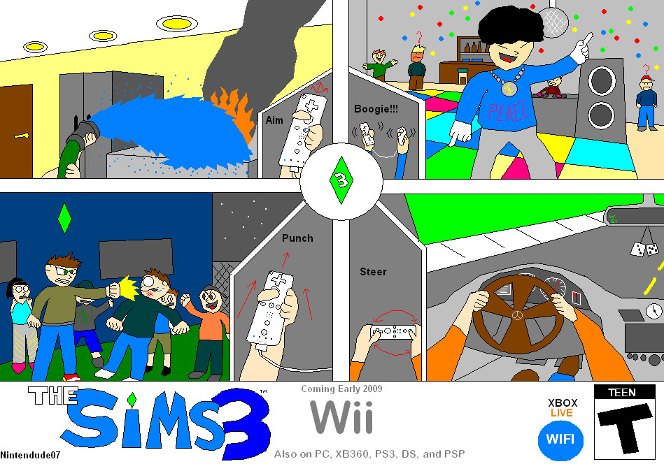 The Sims 3 Ad 1 by Nintendude07