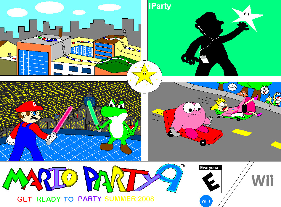 Mario Party 9  Ad 2 by Nintendude07