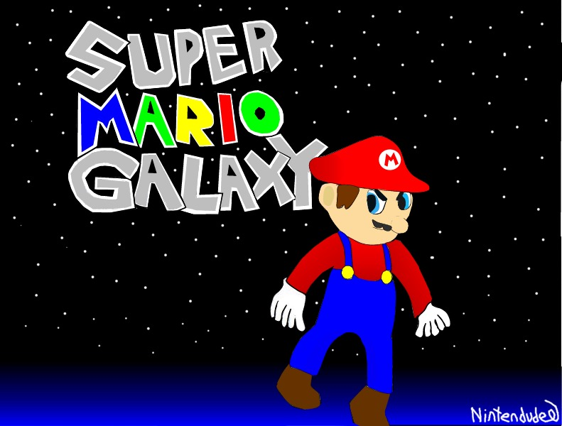 Super Mario Galaxy! by Nintendude07