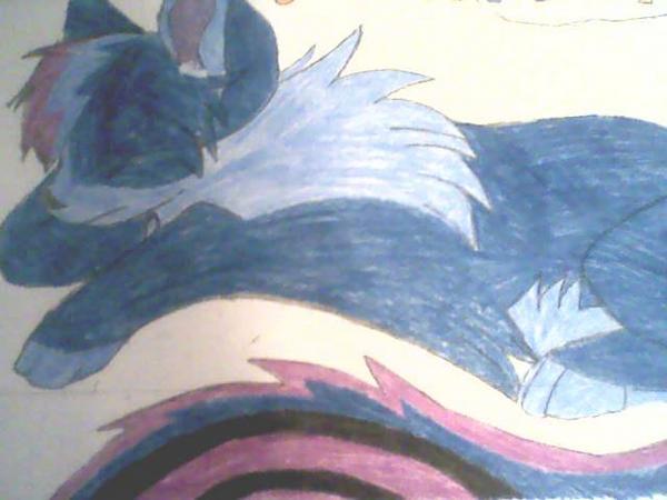 Colored Crying Fox by Nionai