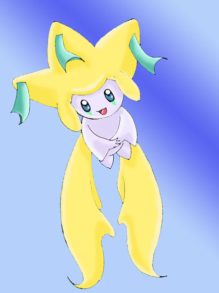 Jirachi (For Shadowbender) by NoFace