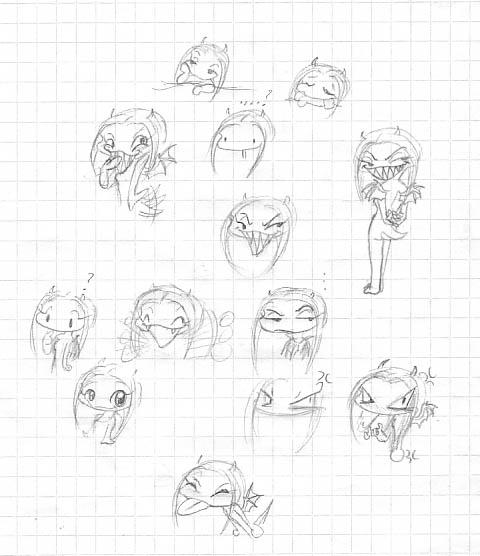 Emotion Scribbles by Noot_das_Schaf