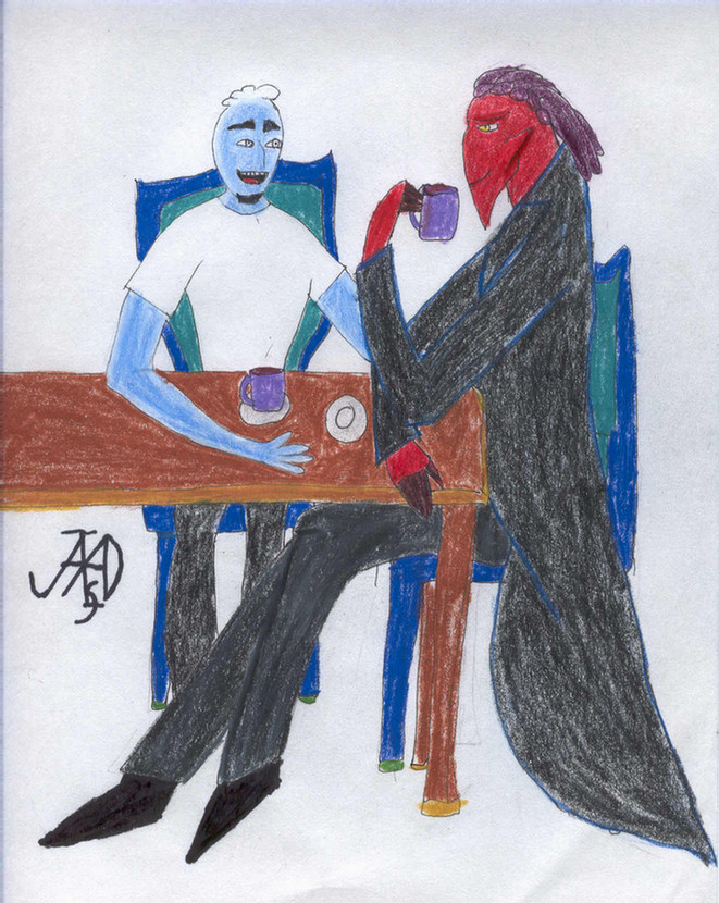 Teatime. Thrax/Ozzy by Northstar