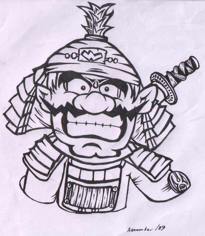 Wario is a 6th dan at Kenjitsu you know... by November