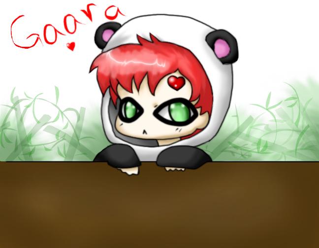 Panda Gaara Gaara Chibi Panda