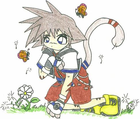 Chibi Sora *request for Soras girlfriend* by narakus_demon