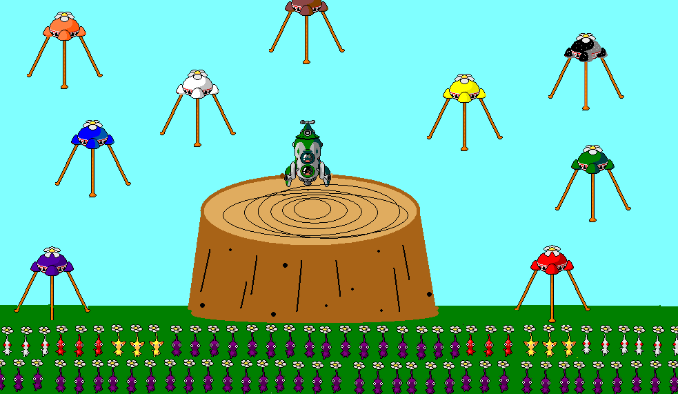 Pikmin World Domination by natemaster1