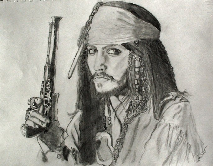 Jack Sparrow by ncygirl