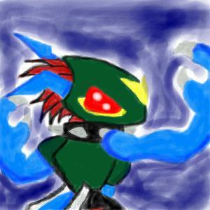 Dinobeemon Oekaki by nekotenshi