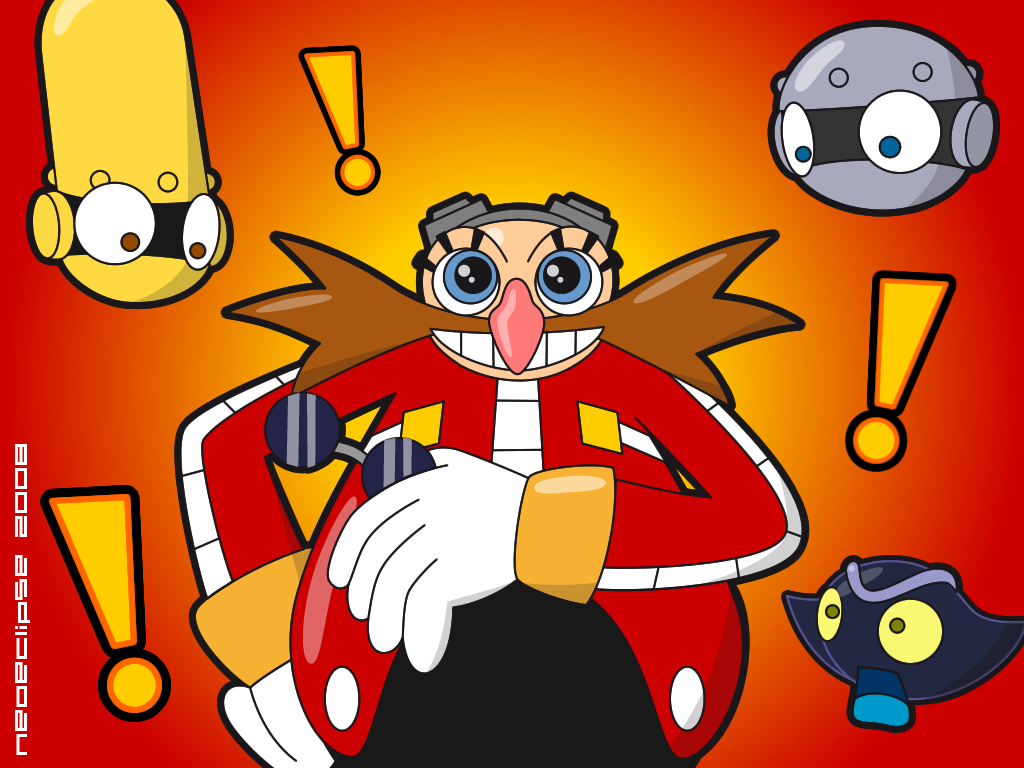 Eggman reveals his eyes by neoeclipse
