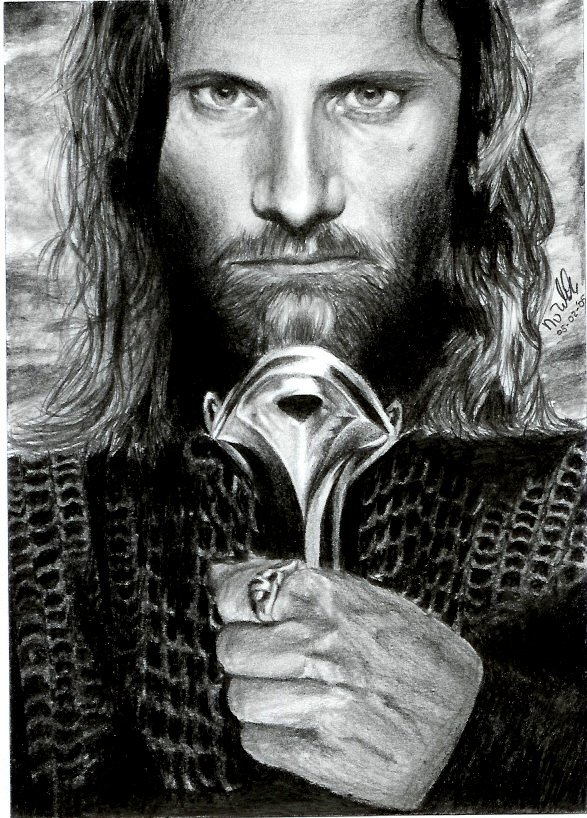 Aragorn for my brother by nienke
