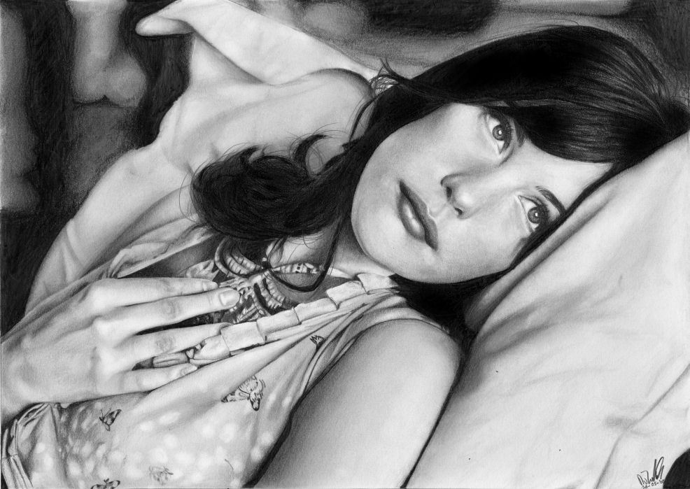 + Liv Tyler -- my best drawing... by nienke